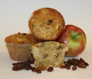 Apple & sultana muffins - Muffins which are moist, full of fruit and flavoured with cinnamon.