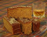 Ginger & Whisky Cake - A very moist double ginger cake with whisky sozzled sultanas.  Another favourite at Doyle's Deli, especially in the winter.