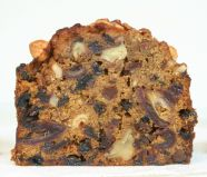 Nutty Fruit Cake - A glorified date & walnut cake with added hazelnuts, apricots, prunes and vine fruits.  Delicious and nutritious.