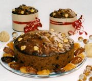 Nutty Fruit Cake - A glorified date & walnut cake with added hazelnuts, apricots, prune and vine fruits.  Delicious and nutritious.