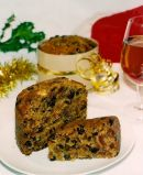 Rich Spiced Fruit Cake -