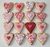 Heart Biscuits -