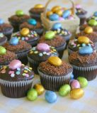 Easter Chocolate Muffins -