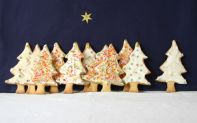Christmas Tree Biscuits -