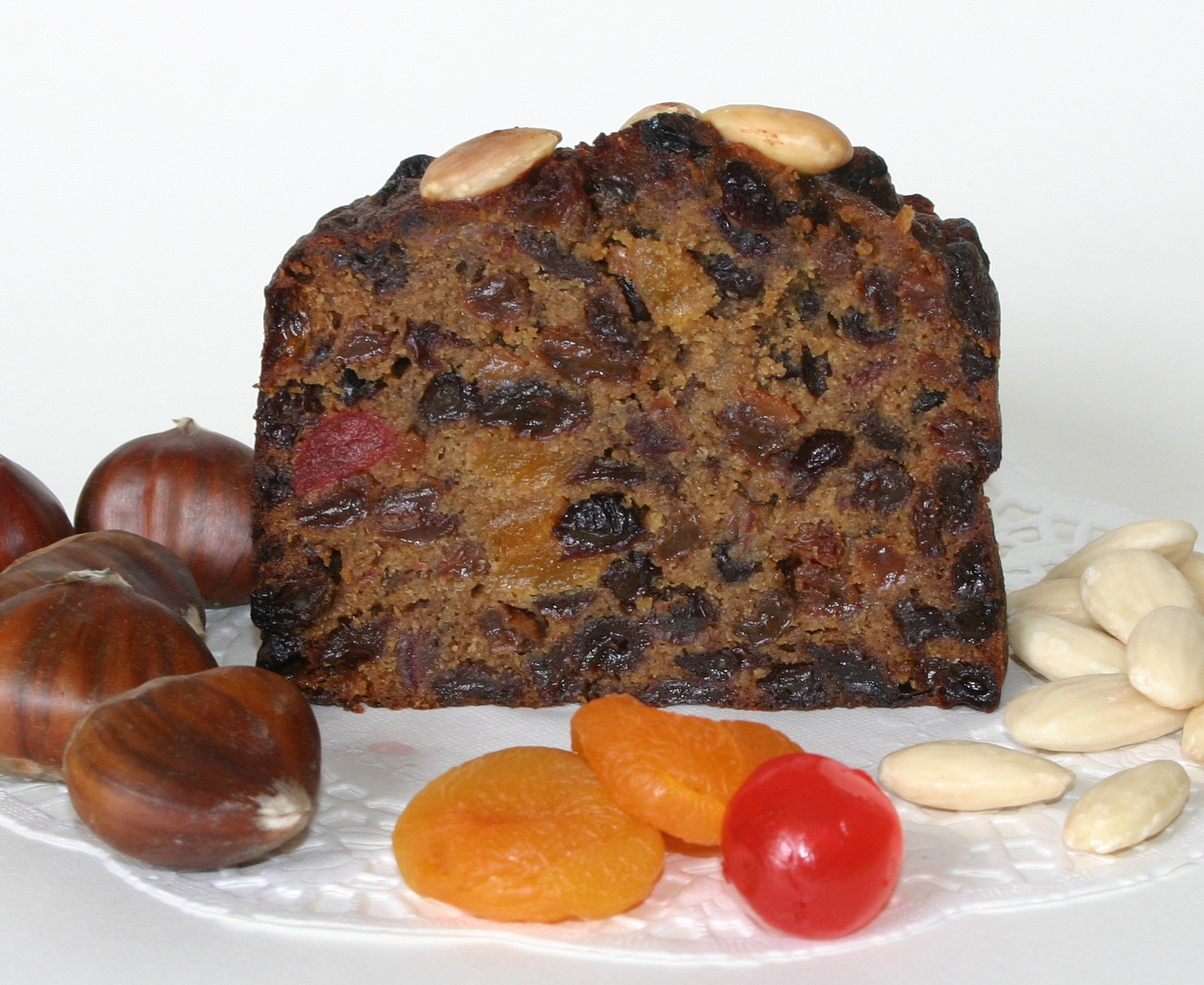 Gluten Free Fruit Cake - A rich and very moist fruit cake, packed with ...