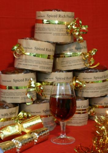 Rich Spiced Fruit Cake -